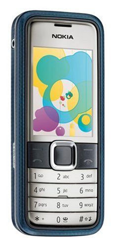 Nokia 7310 Supernova Unlocked Cell Phone with 2 MP Camera, Media Player, MicroSD Slot-International Version with No Warranty (Steel Blue) 1