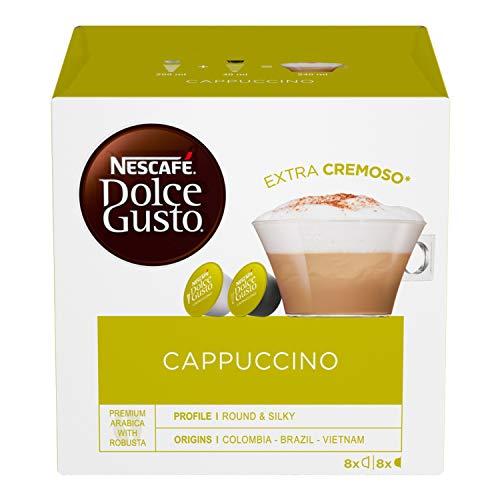 Nescafé Dolce Gusto Cappuccino Cappuccino, 6 Confezioni da 16 Capsule (96 Capsule)