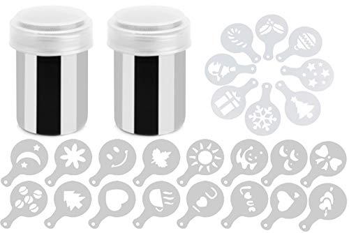 Shaker Duster & Plastic Stencils