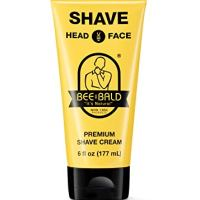 BEE BALD SHAVE Premium Shave Cream Goes On Light & Slick For A Shave That's Incredibly Smooth &...