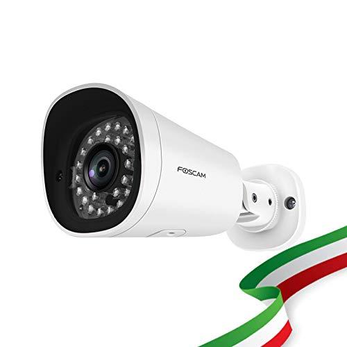 Foscam G2EP Cámara para exteriores de 2 megapíxeles Full HD 1080P Infrarrojos hasta 20 metros