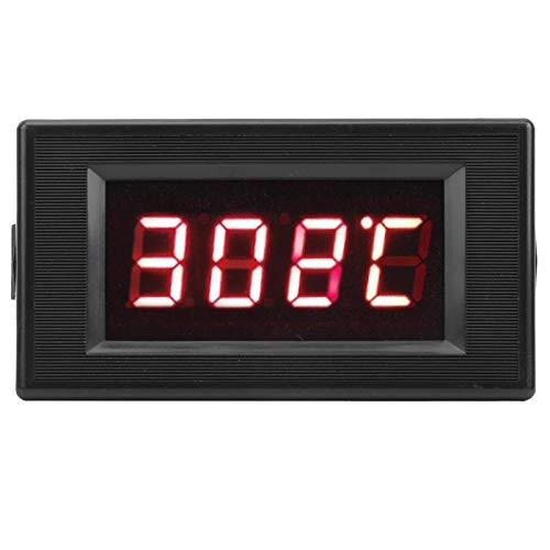 Haute précision DYG-5135 0-999 ℃ Indicateur de température numérique à Affichage numérique à Del intégré à Installer avec Une Alimentation électrique de 12 V CA pour Les chaudières