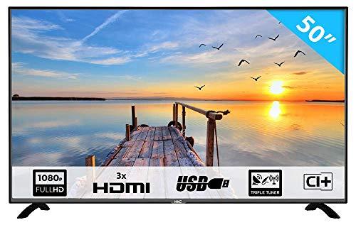 HKC 50F2 TV (50 Pollici Full-HD TV DVB-T/T2/S/S2/C)