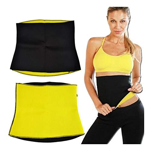 Feeling Hub Tummy Trimmer Slimming Belt for Men and Women (2XL)