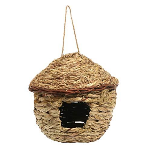 Vogelhaus Garten Indoor/Outdoor Vogelhaus Vogelnest für Eichhörnchen Kolibri Bluebird Papagei Spatz Vogel Größe S