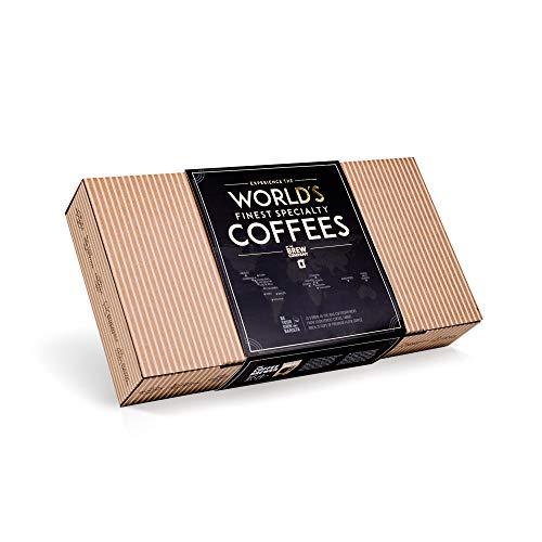 Innovatives Kaffee Geschenk Set für Männer & Frauen - 10 Beste Single Estate Spezialitäten & Bio...