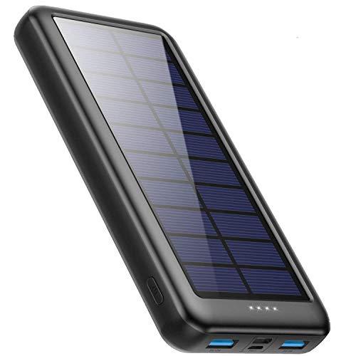 iPosible Powerbank Solare 26800mAh con USB...