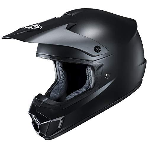 HJC(エイチジェイシー)バイクヘルメット オフロード セミフラットブラック (サイズ:L) CS-MXII SOLID(ソリッド) HJH102