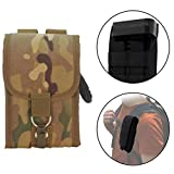 Clakit Rangefinder StrapPack Clip-On Pouch for Backpack Straps (Camo) - Attachment for Hunters