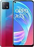 OPPO A73 5G – Pantalla de 6.5' (AMOLED, 8GB +128GB, MT6853V, 4040mAh, Triple Cámara con IA, carga...
