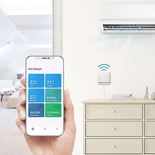 41PCs6uiWbL [Bon Plan] tado° Contrôle Intelligent de la Climatisation V3+, Installez par vous-même, Designed in Germany
