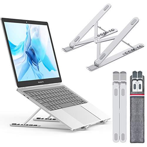 """NULAXY Laptop ständer für Ipad und Dell, HP, Samsung, Lenovo alle 10\""""~15.6\"""" Notebooks, Silber"""