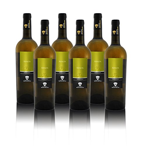 Masseria Barone Melodia Vino Bianco'Ripalta' Falanghina IGP Puglia 2017 - Box 6 bottiglie da 750 ml