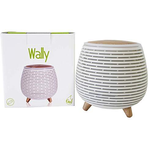 Gisa Wellness, WALLY, Diffusore di Aromi ed Oli Essenziali ad Ultrasuoni [90ml], per Aromaterapia e...
