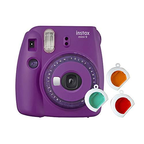 Fujifilm Instax Mini 9 - Cámara instantanea, solo cámara, Morado
