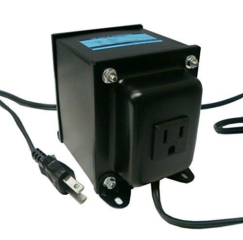 軽量コンパクト 旅行用 TGK1012-1.5K-2P3P ステップアップトランス 日本製 AC100V⇒昇圧⇒110-120V(容量1500W...