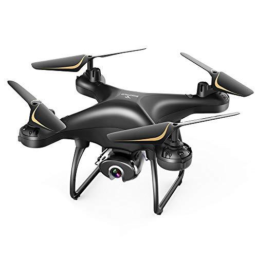 SNAPTAIN SP650 Drone con Telecamera 1080P FHD, Controllo Vocale, Controllo dei Gesti, Volo Circolare, Rotazione ad Alta Velocit, Modalit Hovering, Modalit Headless Adatto ai Principianti