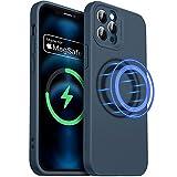 ESR iPhone 12 Pro Max用 ケース 6.7インチ MagSafe対応 マグネット搭載 カメラ保護 液体シリ……