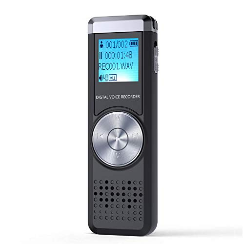 Homelae 32GB Digital Voice Recorder,Homelae Dictaphone Sound Activated Recorder, Portable...