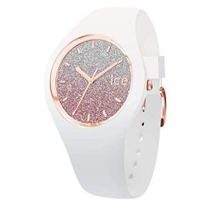 Ice-Watch – ICE lo White Pink – Women's Wristwatch with Silicon Strap – 013431 (Medium)