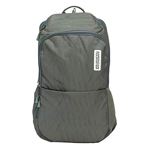 American Tourister 25 Ltrs Green Laptop Backpack (GH8 (0) 24 001)