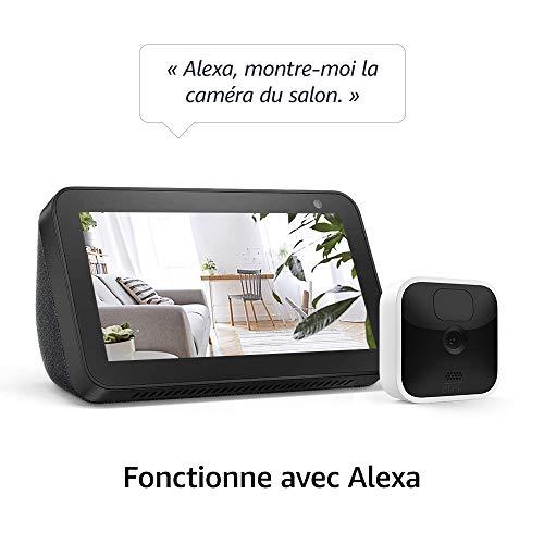 41PQwcRM7oL._SL500_ [Bon plan] Blink Indoor, Caméra de surveillance HD sans fil avec deux ans d'autonomie, détection des mouvements et audio bidir...