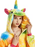 Adult Onesies for Women Men Teens Girls Halloween Costumes Unicorn Animal Pajama