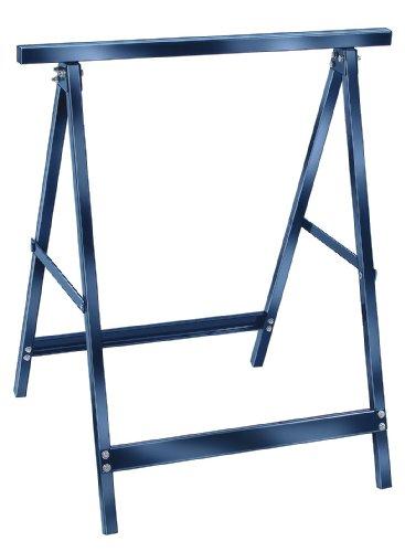 Brennenstuhl Stahl-Arbeitsbock MB 110 (Unterstellbock zusammenklappbar, schlag- und kratzfeste Kunststoffbeschichtung)