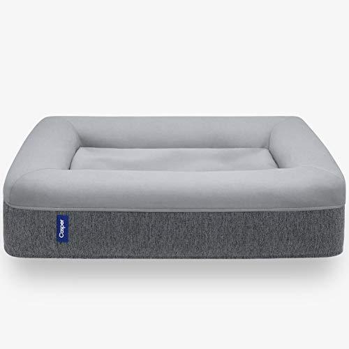 Casper Dog Bed, Plush Memory Foam, Small, Gray