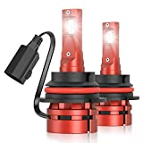 Torchbeam 9007/HB5 LED Bulb, 16000 Lumens Headlamp Replacement Kit, 500% Brightness LED Bulbs, 6000K Xenon White, 50000+ Hour Lifespan