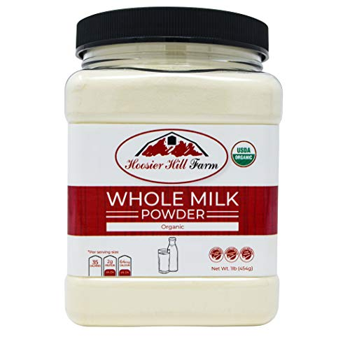 Certified Organic Whole Milk Powder