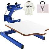 VEVOR Screen Printer 1 Color 1 Station Silk Screen Printing Kit...