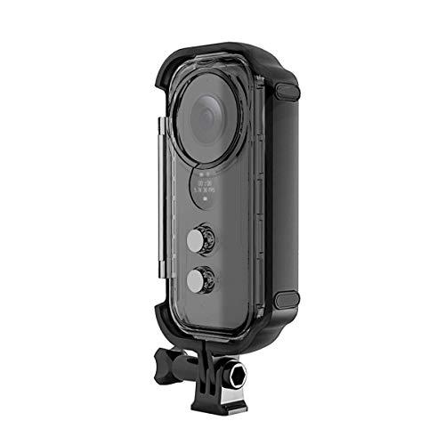 O'woda Nuova versione Insta360 ONE X Custodia impermeabile Custodia subacquea per Insta360 One X Accessori per action cam (trasparente)