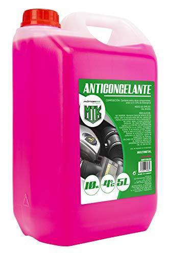 Motorkit MOT3535 Anticongelante, 5L, 10 %, Rosa