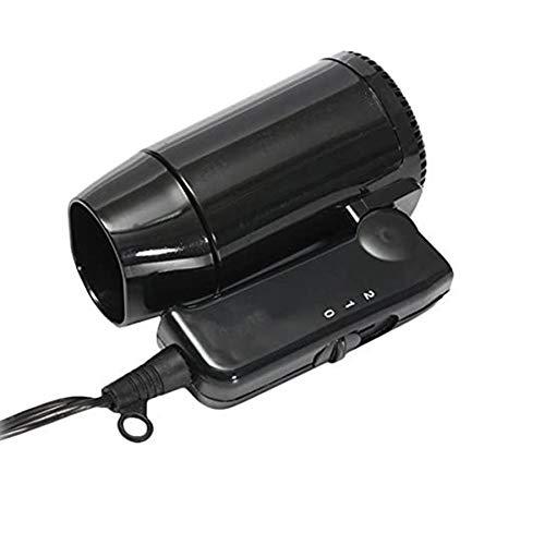 C-FUNN Ultrapequeño 12V Mini Plegable Coche Calentador Descongelador Ajustable Secador De Pelo con Control De Velocidad 2