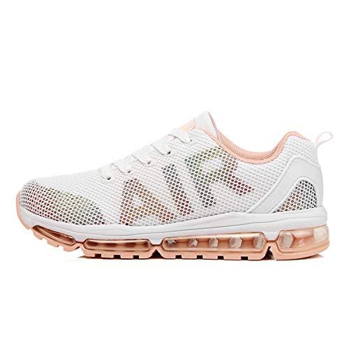 Axcone Damen Herren Sneaker Laufschuhe Air Sportschuhe Turnschuhe Running Fitness Sneaker Outdoors Straßenlaufschuhe Sports - WT 39EU