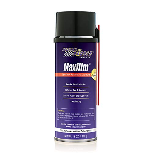 Royal Purple 05000 Maxfilm High Performance Multipurpose Synthetic Penetrating Spray Lubricant - 11 oz.