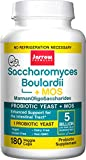 Saccharomyces Boulardii + MOS, 5 Billion Organisms Per Cap, Enhances Support to Intestinal Tract, 180 Count (Cool Ship, Pack of 3)