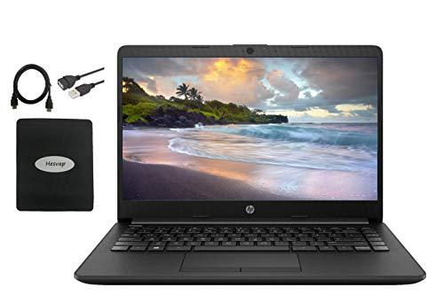 2020 HP 14 inch HD Laptop Newest for Business and Student, AMD Athlon Silver 3050U (Beat i5-7200U), 16GB DDR4 RAM, 512GB SSD, 802.11ac, WiFi, Bluetooth, HDMI, Windows 10 w/HESVAP 3in1 Accessories
