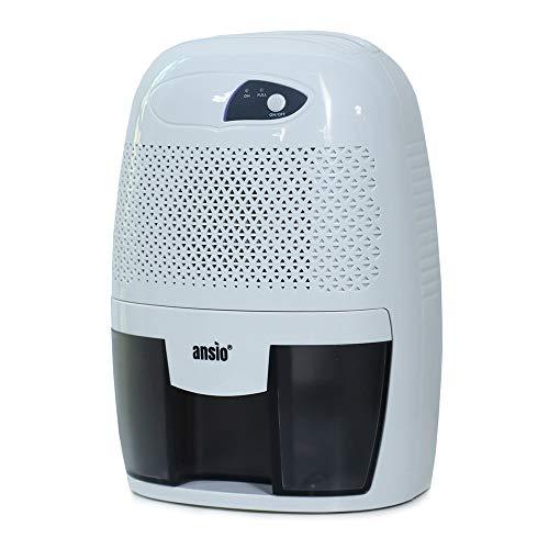ANSIO Elektrischer tragbarer Mini-Luftentfeuchter für Feuchtigkeit, Schimmel, Feuchtigkeit im Haus, Küche, Schlafzimmer, Badezimmer (Mini-Luftentfeuchtung)