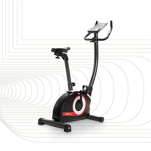 SportPlus SP-HT-9510-iE Heimtrainer Fahrrad Ergometer Heimtrainer für Zuhause 9KG Schwungmasse | Indoor...