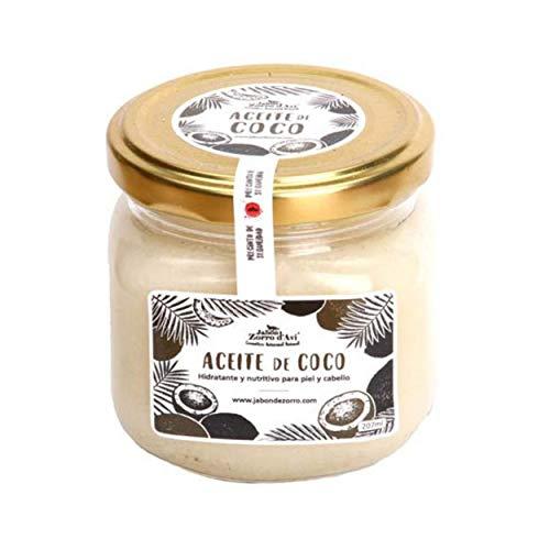Jabón Zorro D'Avi Aceite de Coco Puro Natural y Ecológic