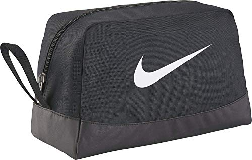 NIKE Rucksack Nike Club Team Swsh Toiletry, schwarz (Black/White), 27 x 16 x 16 cm, BA5198-010