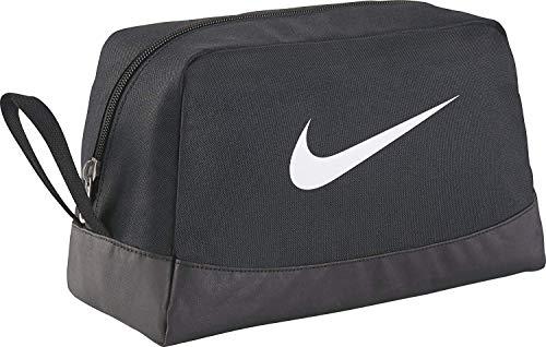 Nike Club Team Swoosh Toiletry Bag Trousse de toilette, 27 cm, Noir (White)