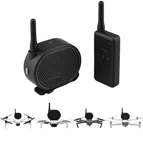 iEago RC Air 2S Drone Altoparlante, Drone Megafono Tempo Reale Senza Fili Altoparlante con Telecomando e Bendare per DJI Air 2S/ Mini 2/ Mavic Mini/ PRO/ Air/ Mavic 2/ Spark/ Xiaomi FIMI x8 Drone