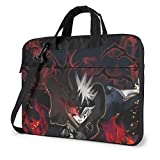 XCNGG Black Clover Anime Laptop Hombro Messenger Bag Tablet Computer Storage Mochila Bolso de 13 Pulgadas