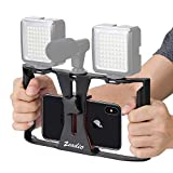 Zeadio Smartphone Vidéo Rig, Téléphone Films Mount Handle Grip...