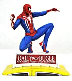 Diamond Select Marvel Gallery PVC Diorama PS4 Spider-Man on Taxi 23 cm Statues