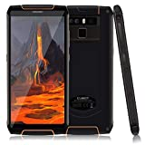 Télephone Portable debloqué incassable, CUBOT King Kong 3 Smartphone 4G étanche 5,5 '' 4Go+64Go, Double SIM, 6000mAh, NFC, IP68 Imperméable Antichoc, Antipoussière, Noir