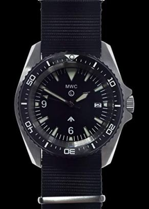 MWC Military Divers Watch Stainless Steel (Automatic) 12 Hour Dial with Sapphire Crystal and Ceramic Bezel